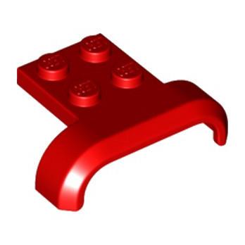 LEGO 6170382 GARDE BOUE 3X4 - ROUGE lego-6170382-garde-boue-3x4-rouge ici :