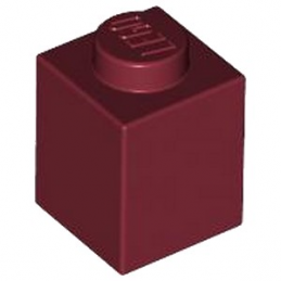 LEGO 4209383 BRIQUE 1X1 - NEW DARK RED