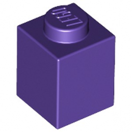 LEGO 6084028 BRIQUE 1X1 - MEDIUM LILAC
