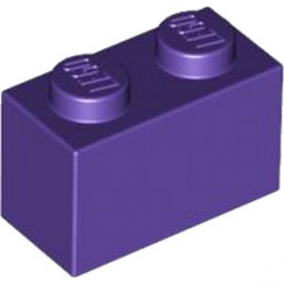 LEGO 6104154 BRIQUE 1X2 - MEDIUM LILAC