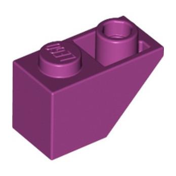 LEGO 6195504 TUILE 1X2 INV. - MAGENTA