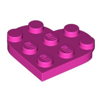 LEGO 6254513 COEUR 3X3 - ROSE