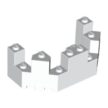 LEGO 6097483 BALCON / TOURELLE 4X8X2 - BLANC