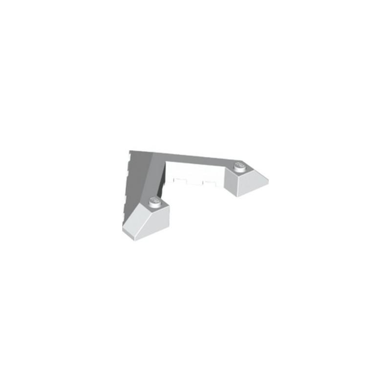 LEGO 6256536 ROOF TILE 8X6 45DEG W/CUT - BLANC