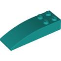 LEGO 6249423 BRIQUE 2 X 6 W. BOW - BRIGHT BLUEGREEN