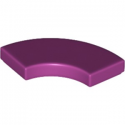 LEGO 6177824 PLATE LISSE 2X2 1/4 ROND - MAGENTA