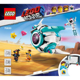Notice / Instruction Lego The lego Movie  70830