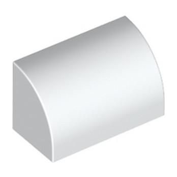 LEGO 6248827 1/2 DOME 1X2 - BLANC lego-6248827-12-dome-1x2-blanc ici :