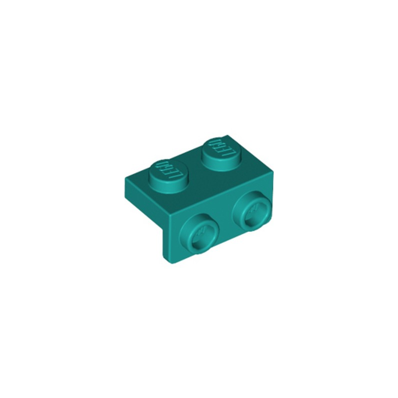 LEGO 6249418 ANGULAR PLATE 1,5 TOP 1X2 12 - BRIGHT BLUEGREEN