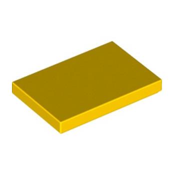 LEGO 6179184 PLATE LISSE 2X3 - JAUNE