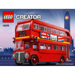 Notice / Instruction Lego Creator  London Bus 10258