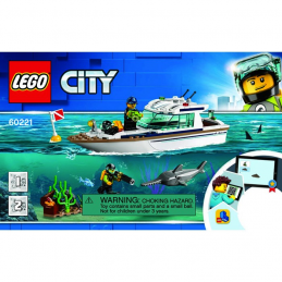 Notice / Instruction Lego  City 60221
