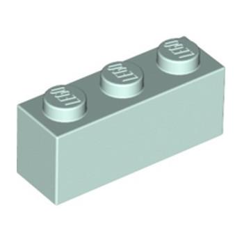 LEGO 6172587 BRIQUE 1X3 - AQUA