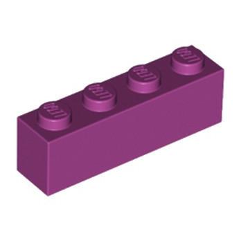 LEGO 4206364 BRIQUE 1X4 - MAGENTA