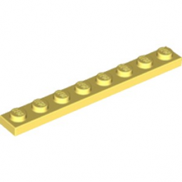 LEGO 6248761 PLATE 1X8 - COOL YELLOW