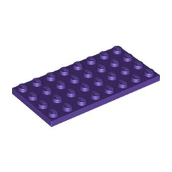 LEGO 6251817 PLATE 4X8 - MEDIUM LILAC lego-6251817-plate-4x8-medium-lilac ici :