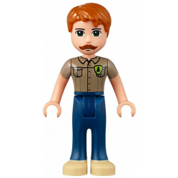 Mini Figurine LEGO® : Friends - Angus
