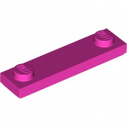 LEGO 41740 PLATE 1X4 W. 2 KNOBS - ROSE