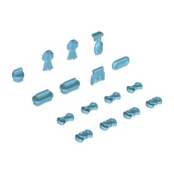 LEGO 4625277 LOT D'ACCESSOIRES DE BEAUTE - MEDIUM AZUR