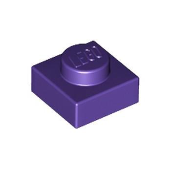 LEGO 6231376 PLATE 1X1 - MEDIUM LILAC