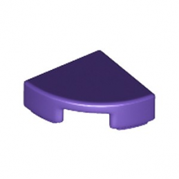 LEGO 6199891 PLATE LISSE 1/4 ROND 1X1 - MEDIUM LILAC