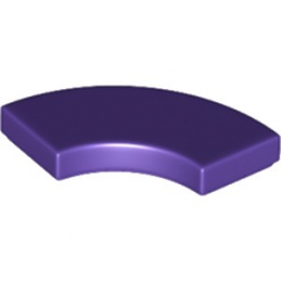 LEGO 6199899 PLATE LISSE 2X2 1/4 ROND - MEDIUM LILAC