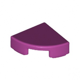 LEGO 6199889 PLATE LISSE 1/4 ROND 1X1 - MAGENTA