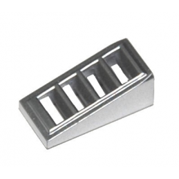 LEGO 6092115 GRILLE 1X2X2/3 - METAL SILVER lego-6092115-grille-1x2x23-metal-silver ici :