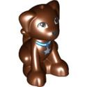 LEGO 6179048 CHIEN - REDDISH BROWN