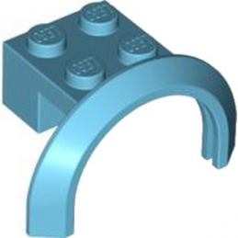 LEGO 4599550 GARDE BOUE 2X4X1 - MEDIUM AZUR
