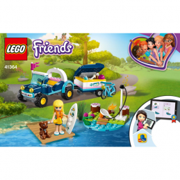 Notice / Instruction Lego Friends 41364