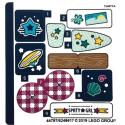 Stickers / Autocollant Lego  Friends - 41364