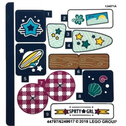 Stickers / Autocollant Lego  Friends - 41364 stickers-autocollant-lego-friends-41364 ici :