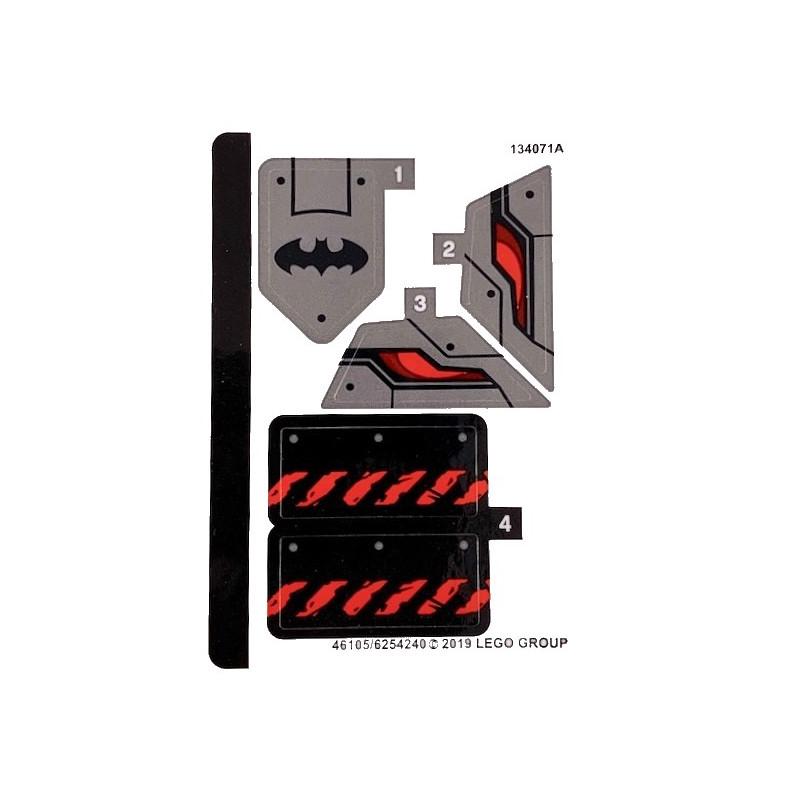 Stickers / Autocollant Lego Marvel  Super Heroes 76117