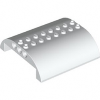 LEGO 4284006 HAUT COURBE 8X8X2 Ø4.85 - BLANC