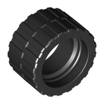 LEGO 4596891 PNEU Ø24 X 14 - NOIR lego-6132299-pneu-o24-x-14-noir ici :