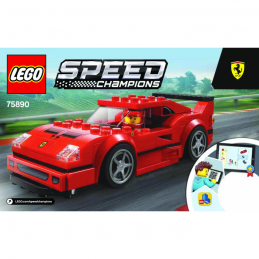 Notice / Instruction Lego Speed Champions 75890