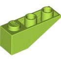 LEGO 6138622 TUILE 1X3/25° INV. - BRIGHT YELLOWISH GREEN