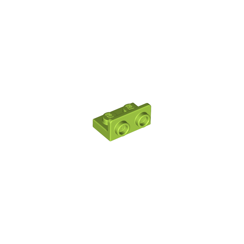 LEGO 6218266 ANGULAR PLATE 1.5 BOT. 1X2 1/2 - BRIGHT YELLOWISH GREEN