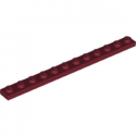 LEGO 6253142 PLATE 1X12 - NEW DARK RED