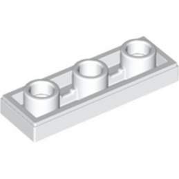 LEGO 6223491 PLATE LISSE 1X3 INV - BLANC