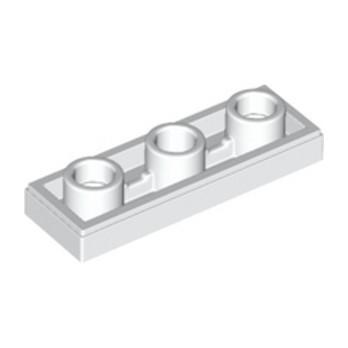 LEGO 6223491 PLATE LISSE 1X3 INV - BLANC lego-6223491-plate-lisse-1x3-inv-blanc ici :