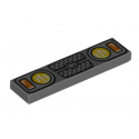 LEGO 6223079 PLATE LISSE 1X4 IMPRIME AVANT VEHICULE