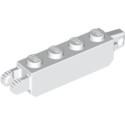 LEGO 6224805 BRIQUE 1X4 FRIC/STUB/FORK VERT. - BLANC
