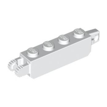 LEGO 6224805 BRIQUE 1X4 FRIC/STUB/FORK VERT. - BLANC lego-6224805-brique-1x4-fricstubfork-vert-blanc ici :