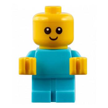 Figurine Lego® City - Bébé - Médium Azur