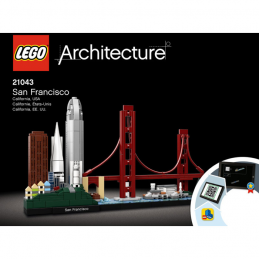 Notice / Instruction Lego  Architecture 21043