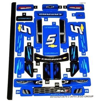 Stickers / Autocollant Lego Speed Champions 75891-2 stickers-autocollant-lego-speed-champions-75891-2 ici :