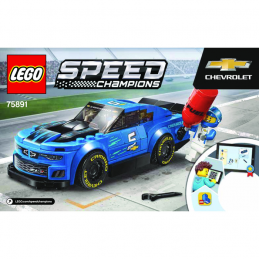 Notice / Instruction Lego Speed Champions 75891