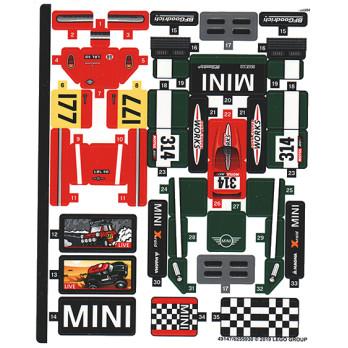 Stickers / Autocollant Lego Speed Champions 75894 stickers-autocollant-lego-speed-champions-75894 ici :